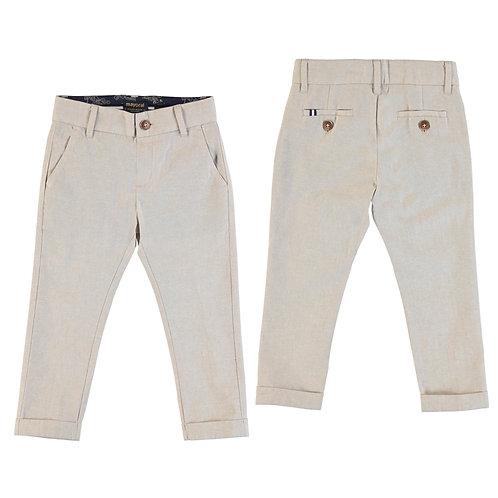 Lněné kalhoty Mayoral