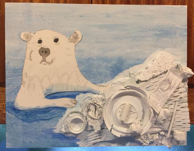 """""""Polar Bear, Polar Bear"""" by Henry J. (age 5)"""