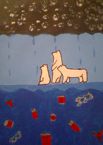 """Arctic Night"" by Ketta H. (age 11)"
