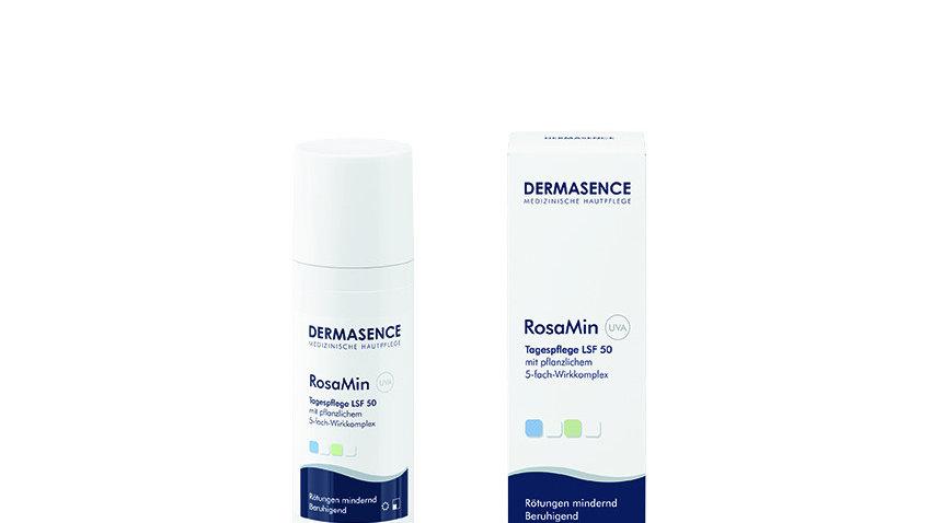 Dermasence RosaMin Dagkrem faktor 50, 50 ml