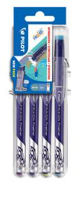 3131910537182 FriXion Fineliner 4 Piece Set2Go - Light Blue, Pink, Light Green, Violet