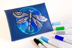 Pintor designs on a pencil case