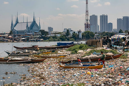 Image from Climate Partner Project Number 1087 Clean oceans Plastic Bank, Worldwide