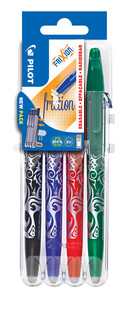 3131910546795 FriXion Ball 4 Piece Set2Go - Black, Blue, Red, Green