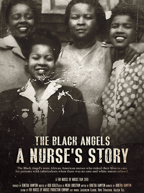 The Black Angels: A Nurse's Story Poster