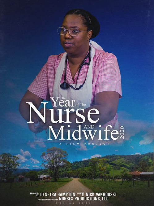 Year of The Nurse and Midwife Poster