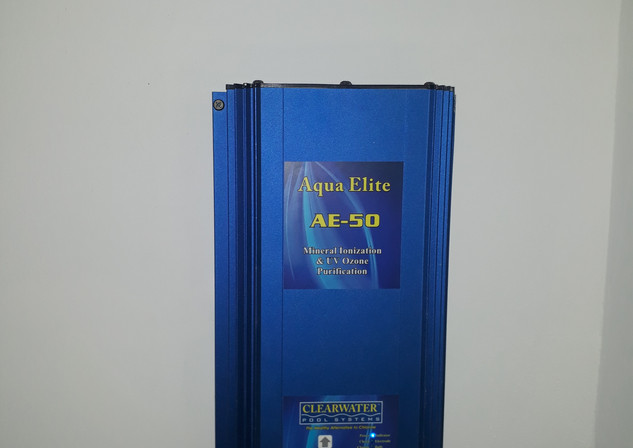 Pool water UV Sterilization and Ionizing