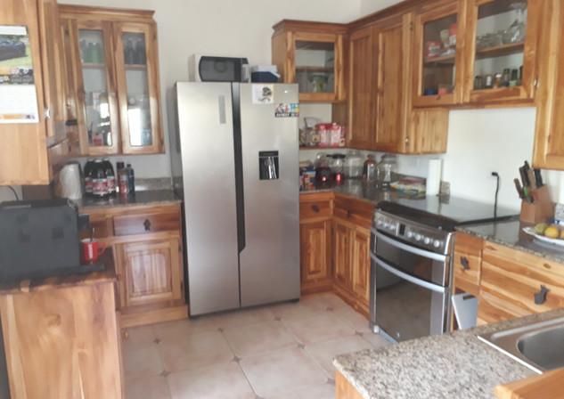 Inside Kitchen - large fridge