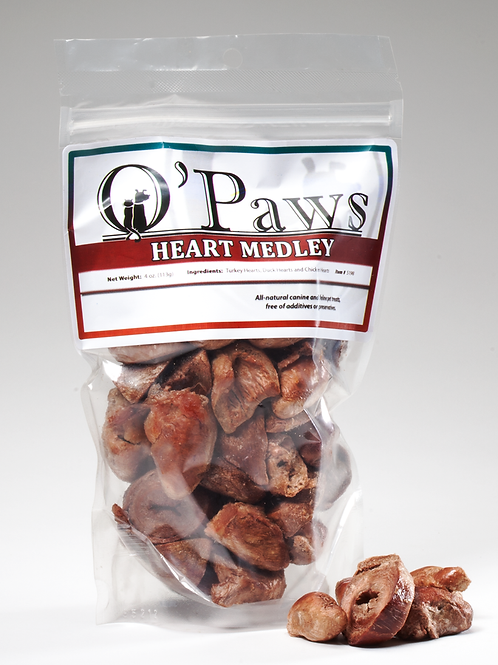 O'Paws Heart Medley 4 oz.