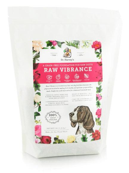 3 LB Bag Raw Vibrance makes 28 one lb meals