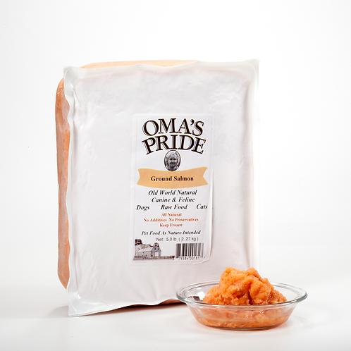 Oma's Pride Ground Salmon 5 lb