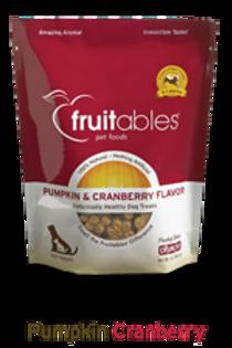 Fruitables Pumpkin & Cranberry Crunchy Dog Treats