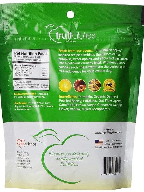 Fruitables Pumpkin & Apple Crunchy Dog Treats