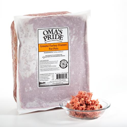 Oma's Pride Ground Turkey Frames 5 lb