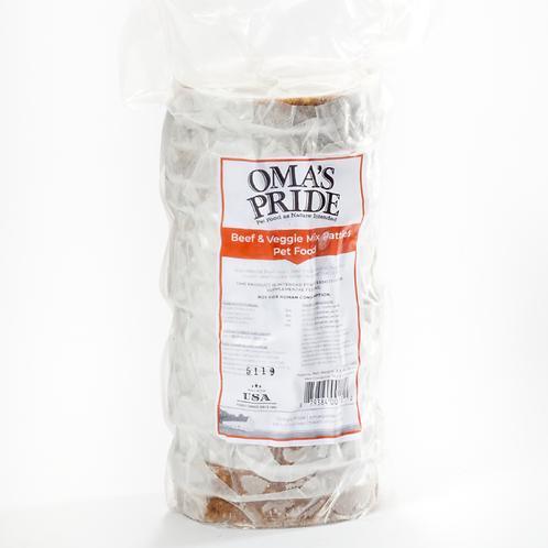Oma's Pride Beef & Veggie Mix Patties 14-Pack