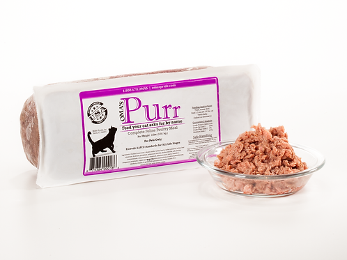 Oma's Pride Purr Complete Feline Poultry Meal 2 lb