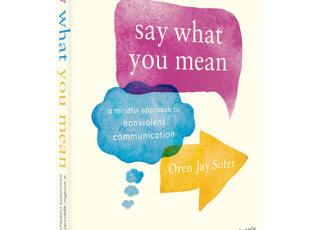 "New Leaves Bookclub - Oren Jay Sofer ""Say what you mean"""