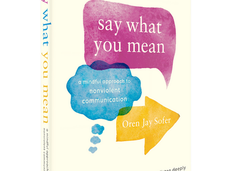 """New Leaves Bookclub - Oren Jay Sofer """"Say what you mean"""""""