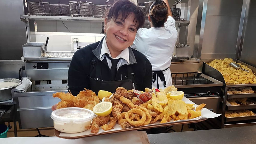 Traditional Fish and Chips in Christchurch - Theo's Fisheries offer the freshest fish and chips in C