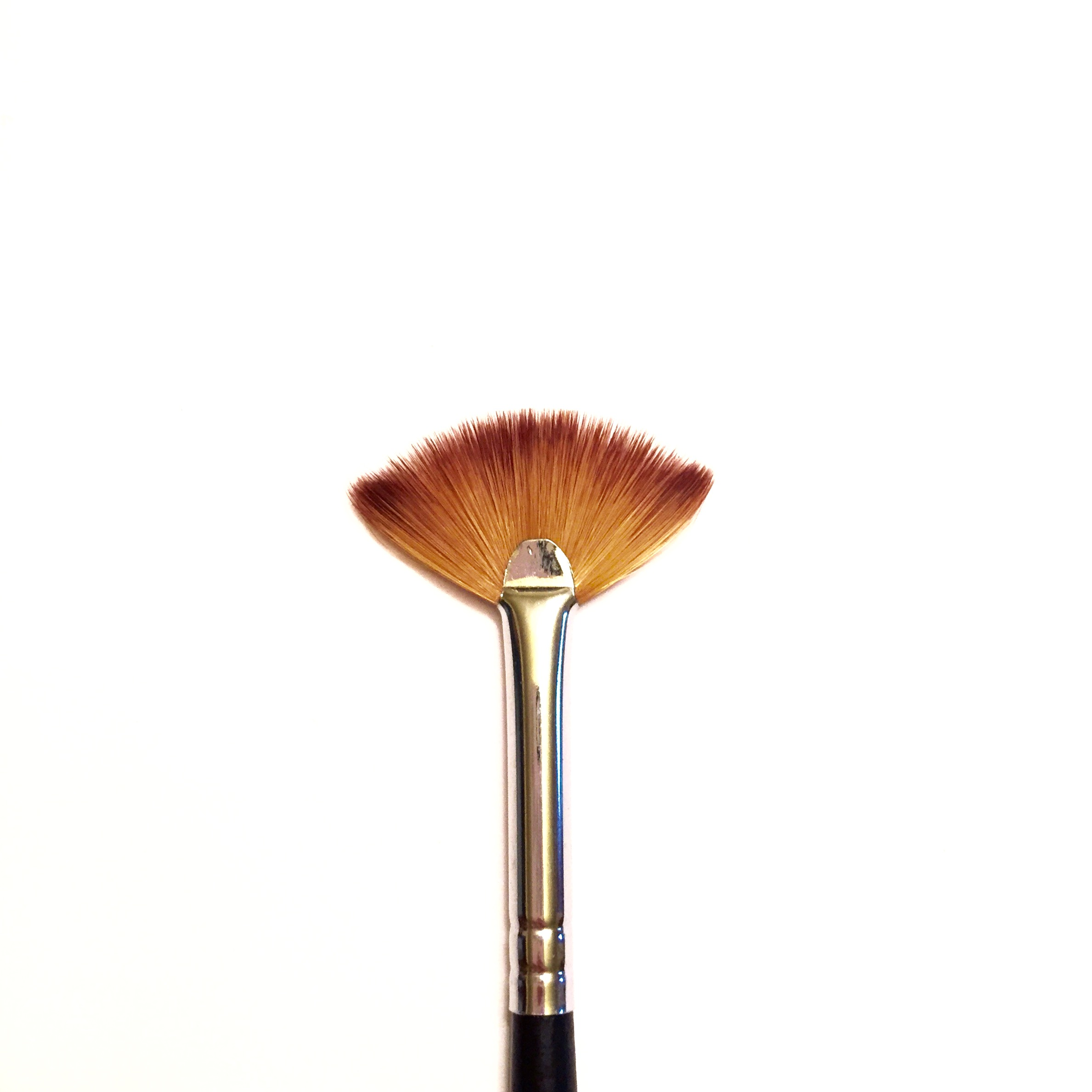 Mini fan brush