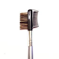 Eyelash comb/eyebrow brush