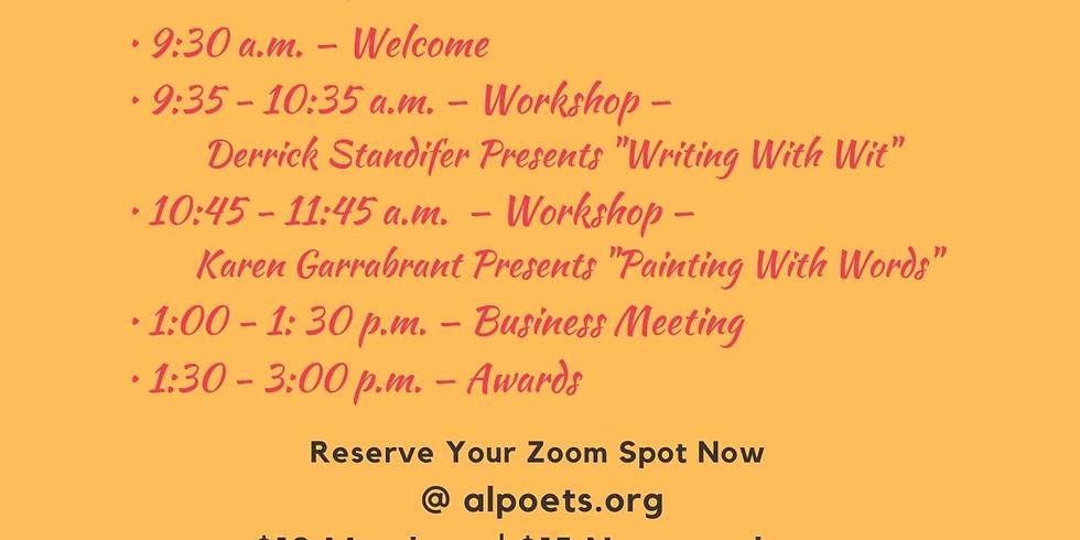 ASPS 2021 Spring Zoom Workshop and Awards