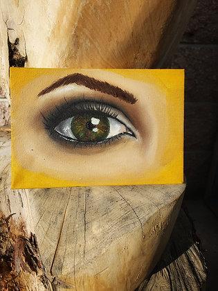 """""""Kiera"""" Eye Study - Original"""