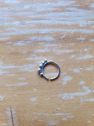 Handmade Sterling Silver Nose Ring