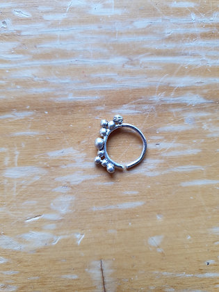 Handmade Sterling Silver Nose Ring