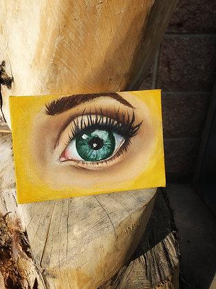 """Megan"" Eye Study - Original"