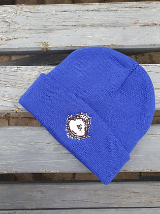 """Woke"" Royal Blue Beanie"