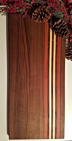 Walnut, Mahogany, Maple Cutting Board