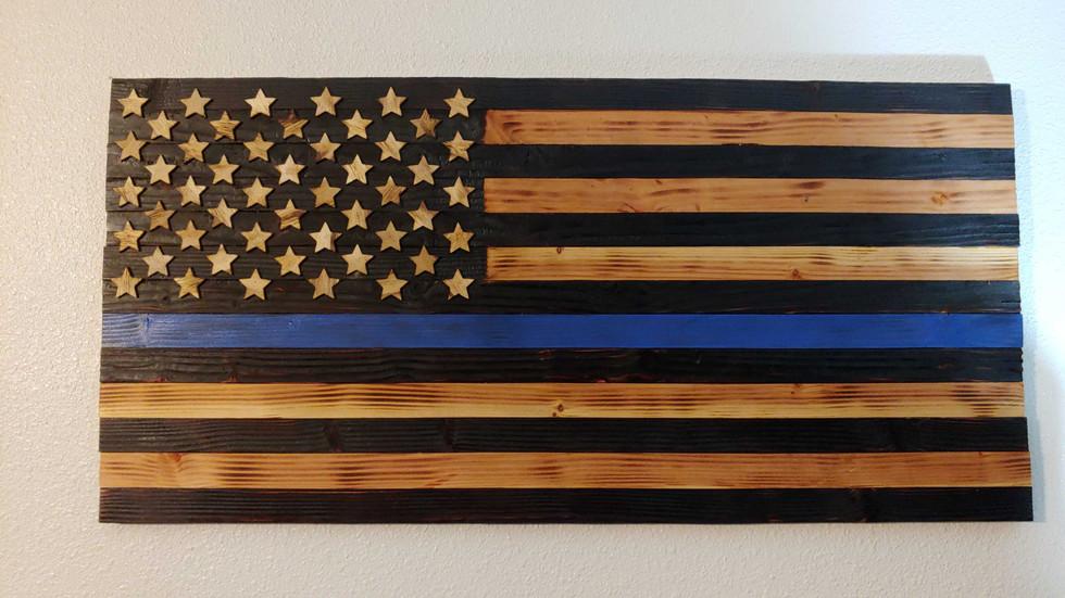 Law Enforcement Flag