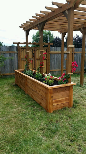 Wood Flower Box