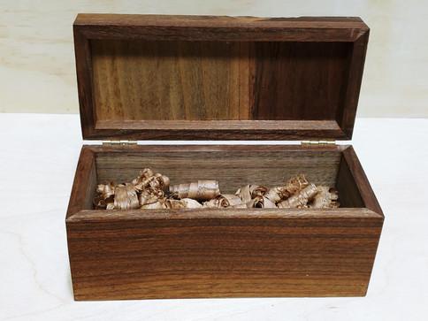 Engraved Walnut Box