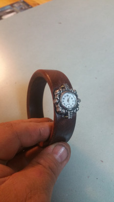 Solid Bangle Watch