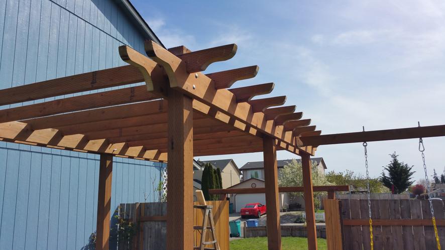 Pergola - Pressure Treated Wood
