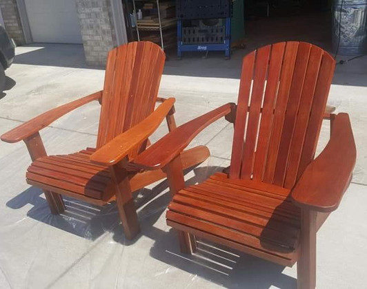 Custom Wood Chairs
