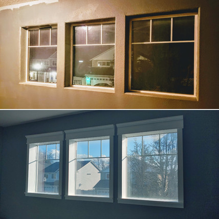 Window Update - Bullnose to Farmhouse