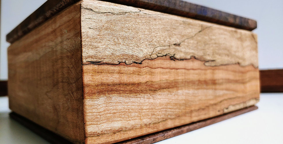 Spalted Maple Keepsake Box