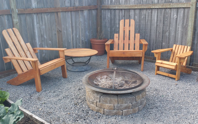 Adirondack Chairs for the Family