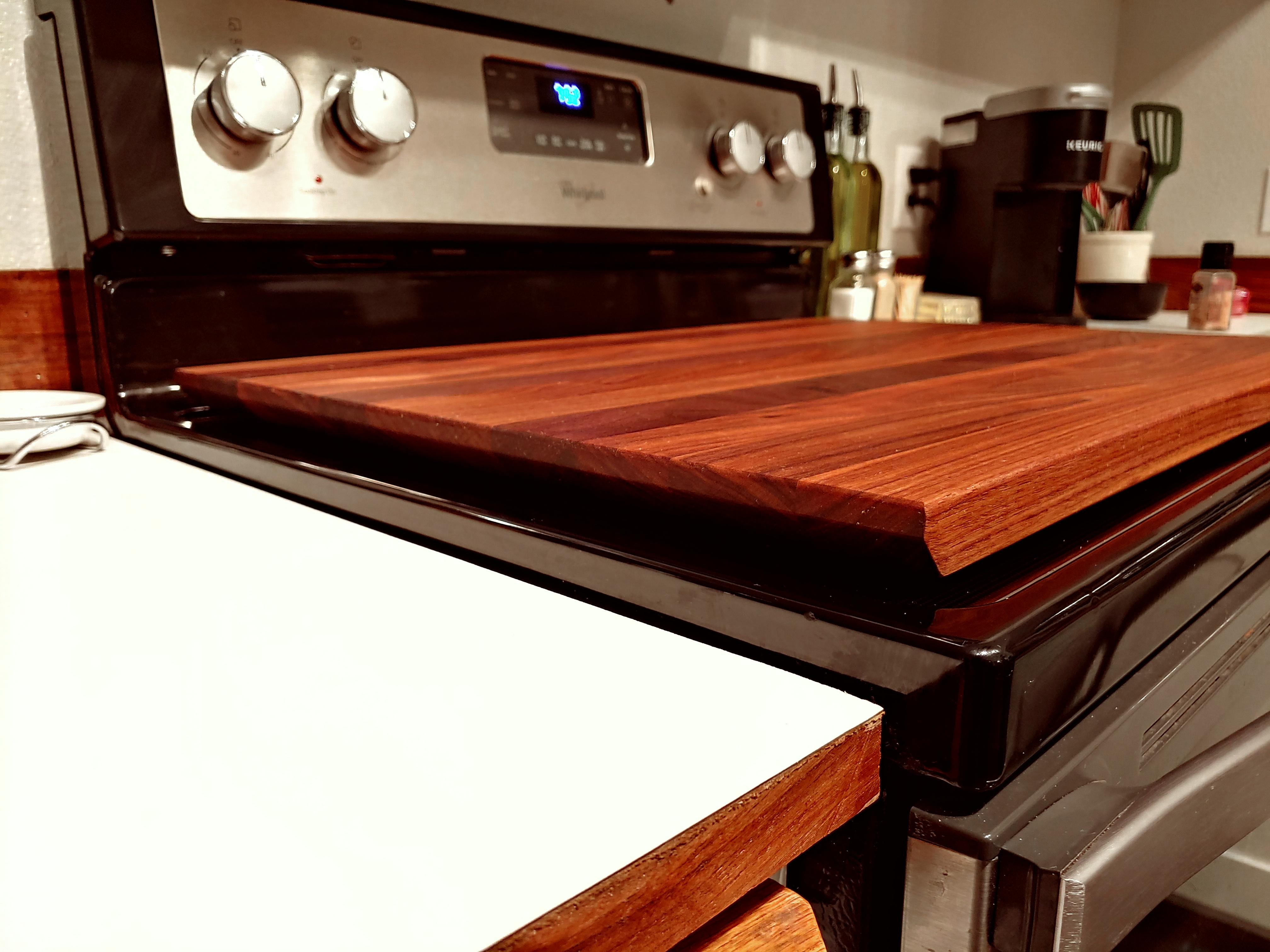 Solid Walnut Cutting Board & Topper