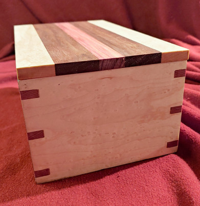 Birds Eye, Cedar, Walnut Custom Box