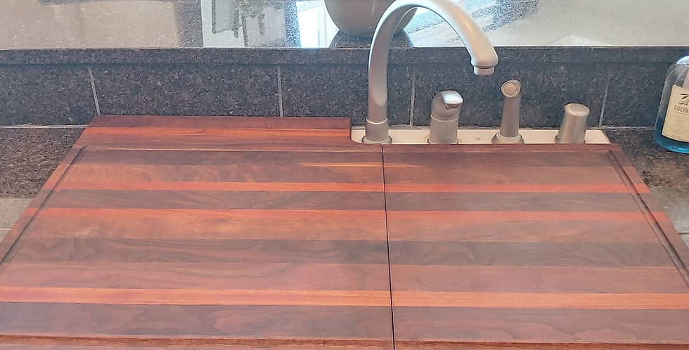 Double Sink Cutting Boards