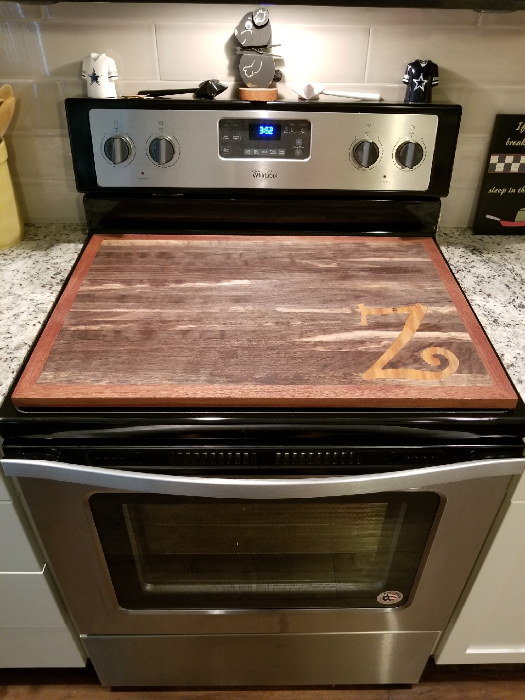Z Inlay Stove Topper