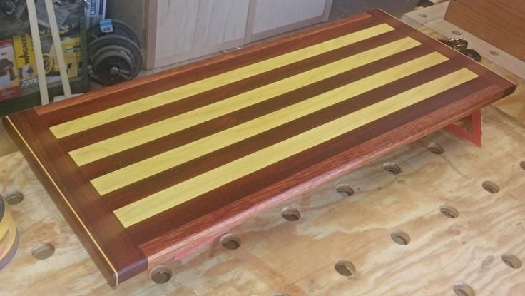 Walnut & Canray Wood Cutting Board