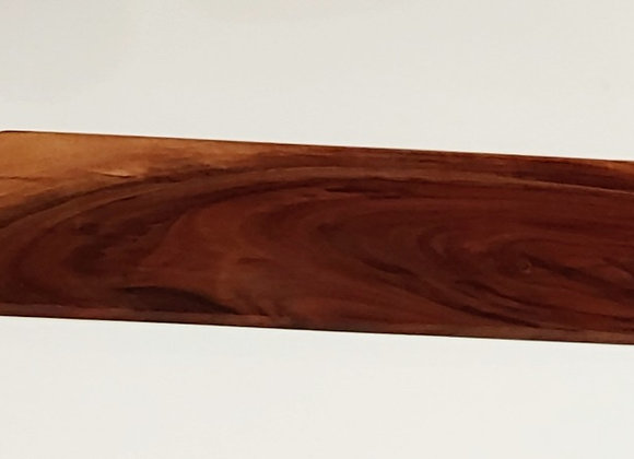 Walnut Charcuterie Board with Handle - 18 Inches