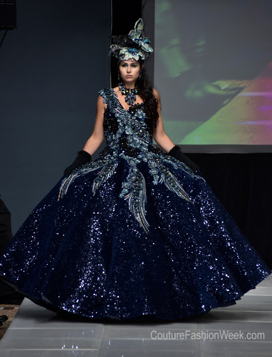 Couture fashion week -Gina Frias