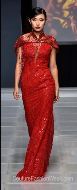 Couture Fashion week - Gina Frias