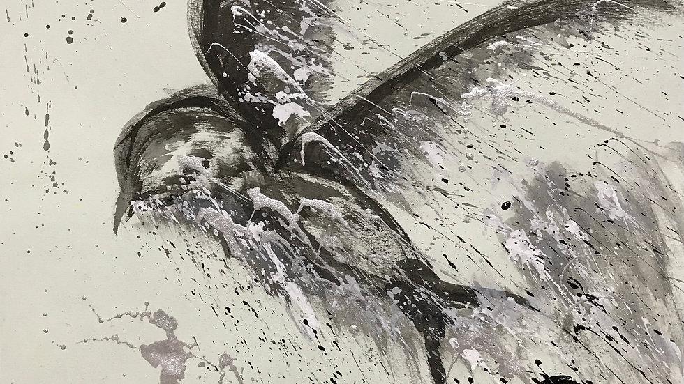 天国へ飛ぶ燕